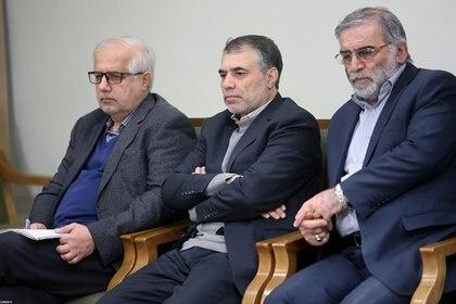 Mohsen Fakhrizadeh (Derecha). Foto: Reuters