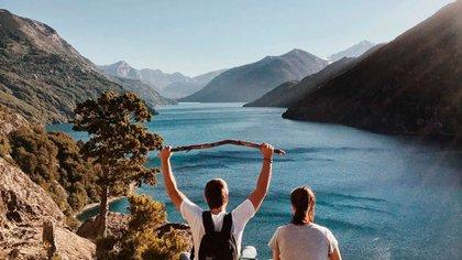 Los lagos del Sur convocaron a miles de turistas este verano que no le temieron al COVID-19 (@turismonacionar)