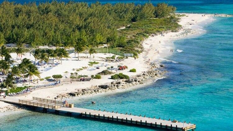 Una de las playas de Turks and Caicos