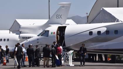 Los pasajeros que salen del país por la vía aérea pagan una cuota que cubre sus servicios migratorios (Foto: Artemio Guerra Baz/ Cuartoscuro)