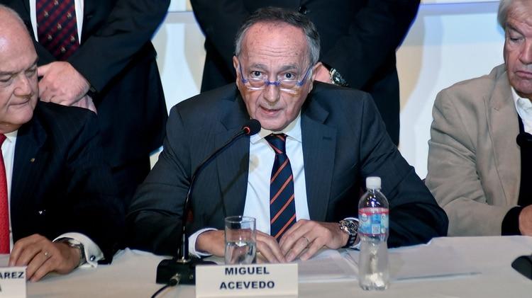 El presidente de la UIA, Miguel Acevedo, será reelegido el martes por dos años más