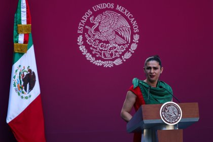 Ana Gabriela Guevara a fait part de son intérêt à concurrencer le gouverneur de Sonora (Photo: Galo Cañas / Cuartoscuro)