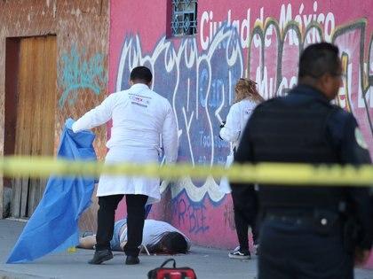 Este año, el número de homicidios dolosos en enero se apuntó en 2,831, según los datos del Secretariado Ejecutivo del Sistema Nacional de Seguridad Pública (Foto: Isaac Esquivel/Cuartoscuro.com)
