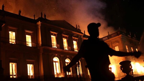 Incendio del Museo Nacional de Brasil(Reuters)