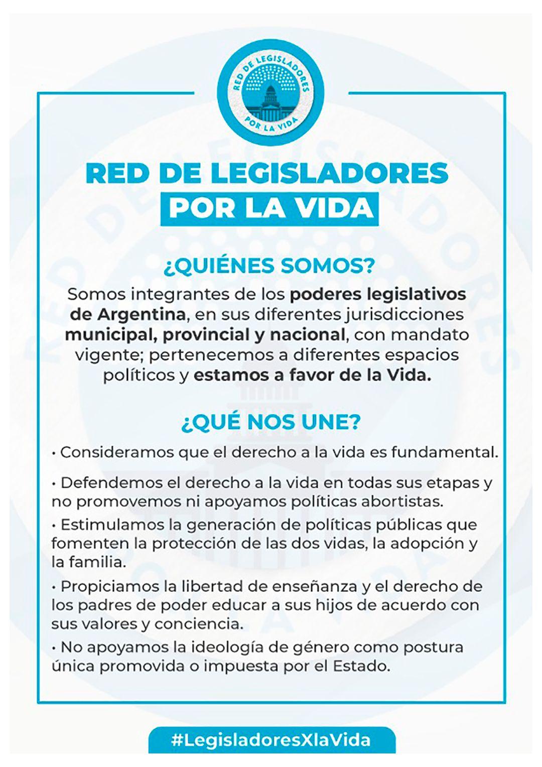 Legisladores por la vida
