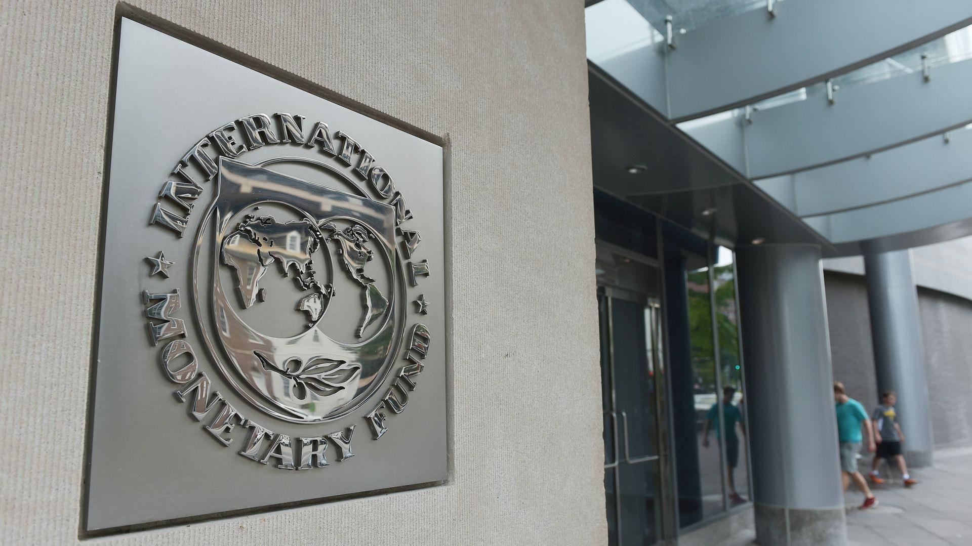 El edificio del Fondo Monetario Internacional en Washington