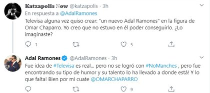 La respuesta sobre Omar Chaparro