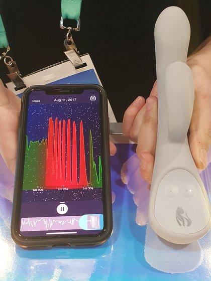 Lioness se conecta con una app para tener un mejor registro de cómo se llega al orgasmo.