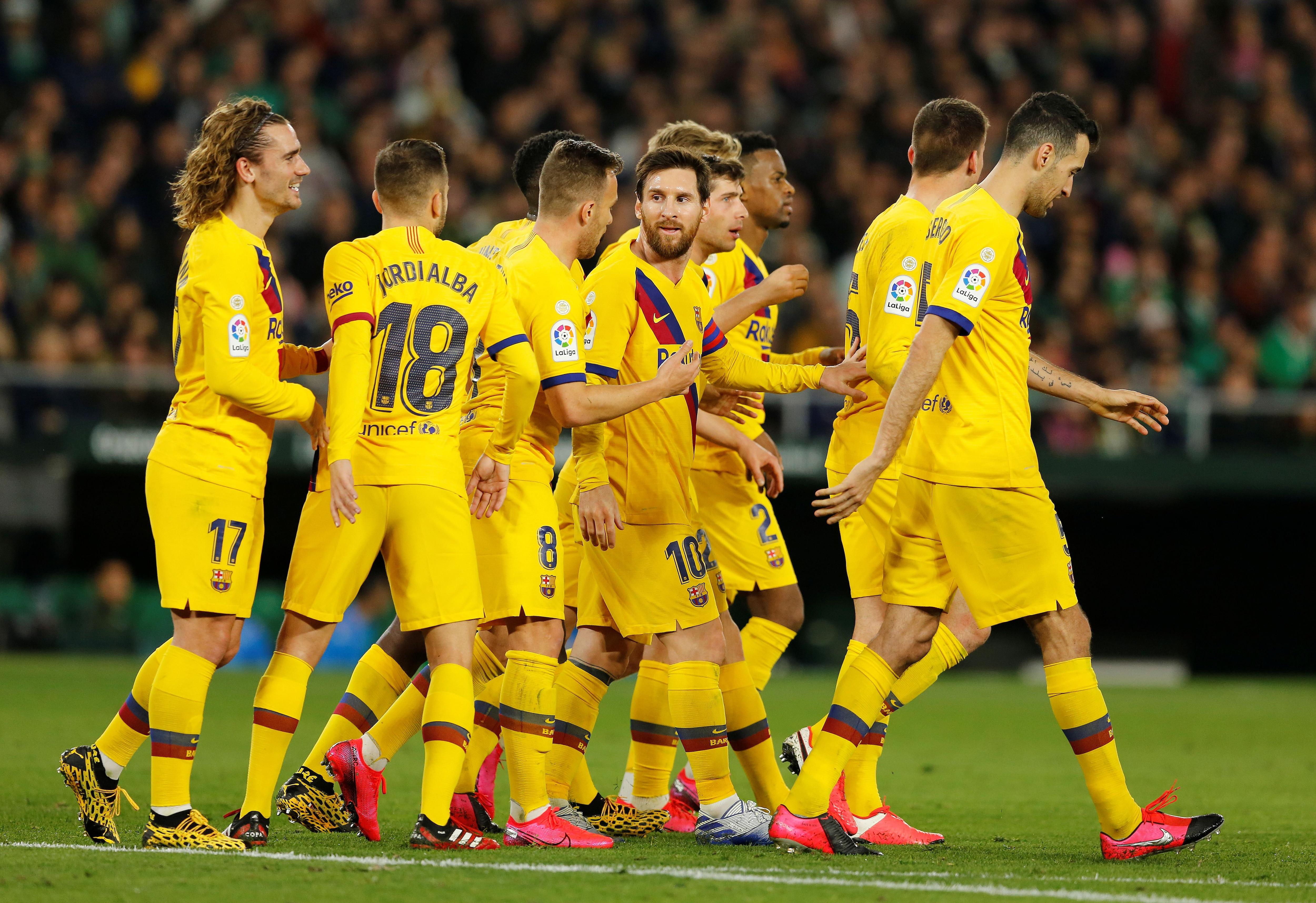 El plantel del Barcelona le envió un burofax a la dirigencia pero tres futbolistas no firmaron el documento (Reuters)