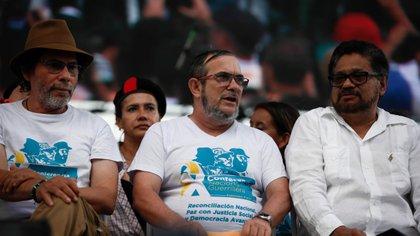 En la Clausura de la Décima Conferencia Nacional Guerrillera de las Farc, el secretariado del grupo dió un parte positivo sobre el acuerdo. (Colprensa - Juan Páez).