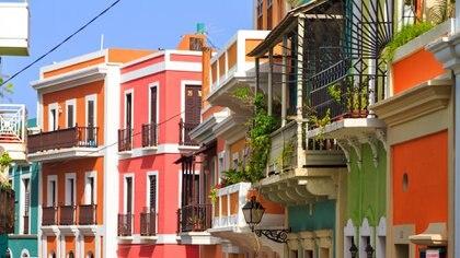 Puerto Rico combina playas con calles coloridas (iStock)
