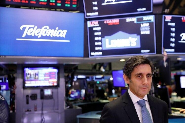 José Álvarez-Pallete López, CEO de Telefonica SA. (Reuters)