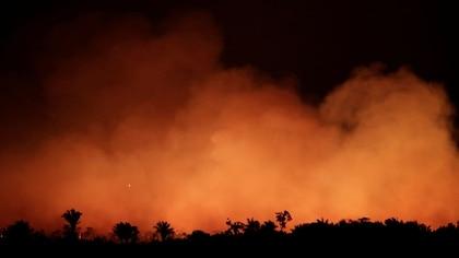 Los incendios en la Amazonía (Foto: Reuters)