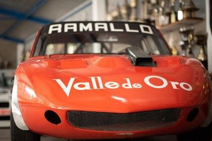 El Torino con el que debutó en 1971 en Turismo Carretera, con el cual logró su primer triunfo en la ciudad de 25 de Mayo, el 29/10/72. (Fede Asenjo)