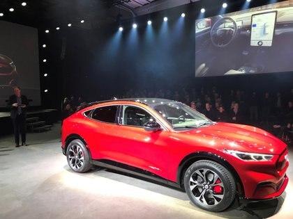 El Mustang Mach-E, el SUV eléctrico que se suma a la familia. (Reuters)