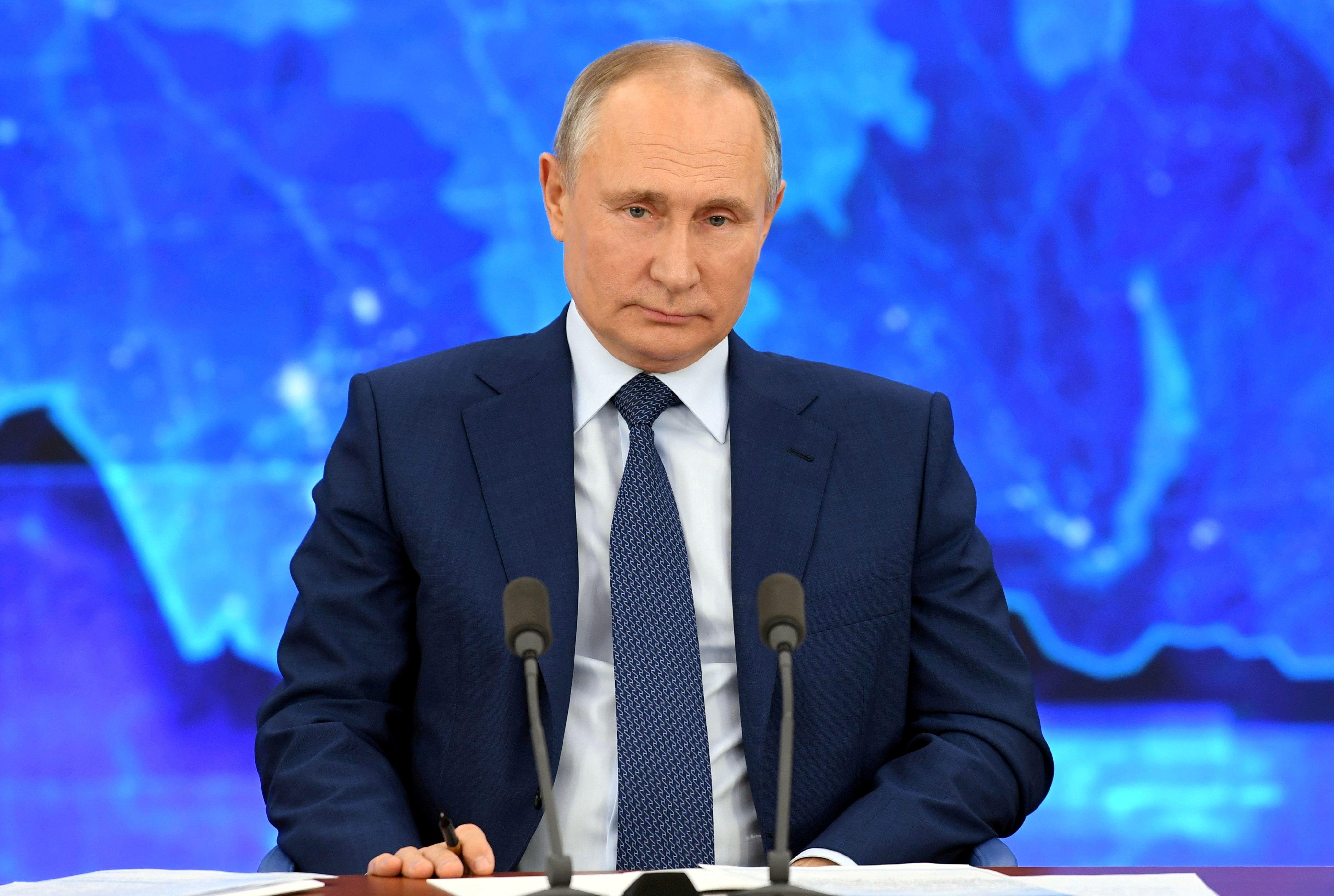 Vladimir Putin (Sputnik/Alexei Nikolsky/Kremlin via REUTERS)
