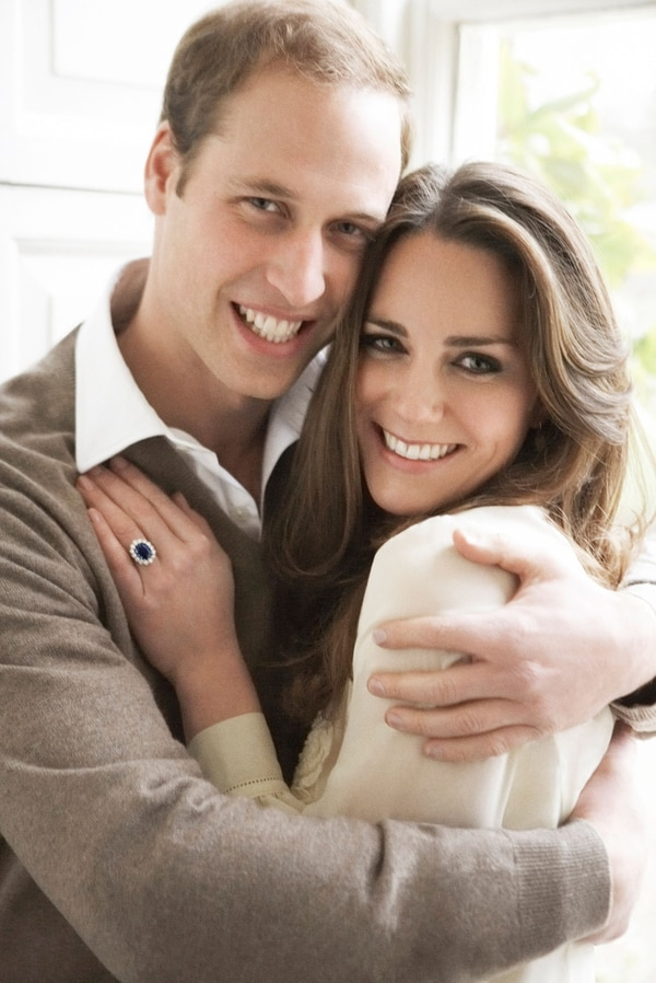 Las fotos del compromiso del príncipe William y Catherine Middleton en diciembre de 2010.