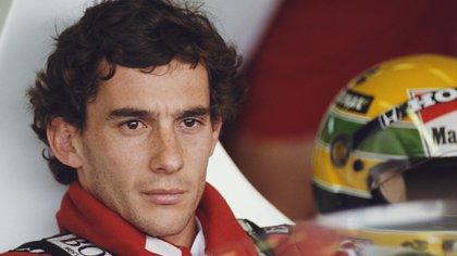 Según contó Xuxa a la prensa, Ayrton Senna fue su alma gemela (Getty Images)
