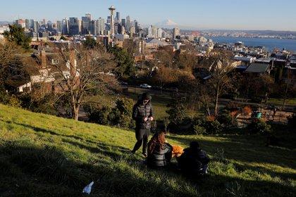 Kerry Park, el famoso parque que ofrece increíble vistas panorámicas a la ciudad de Seattle (Reuters)