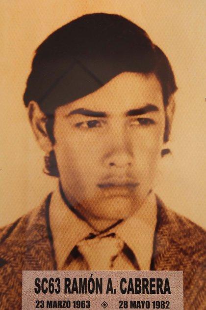 Ramón Ángel Cabrera-soldado identificado Malvinas-
