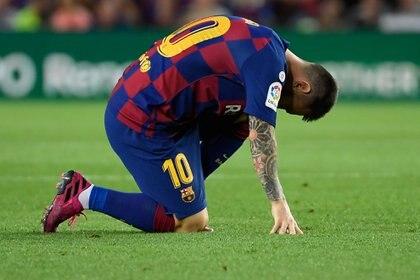 El lamento del delantero rosarino por el dolor que sufrió en el Camp Nou