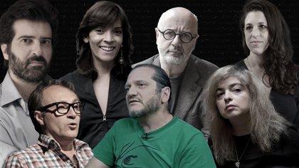 Algunos autores argentinos que participan del Filba