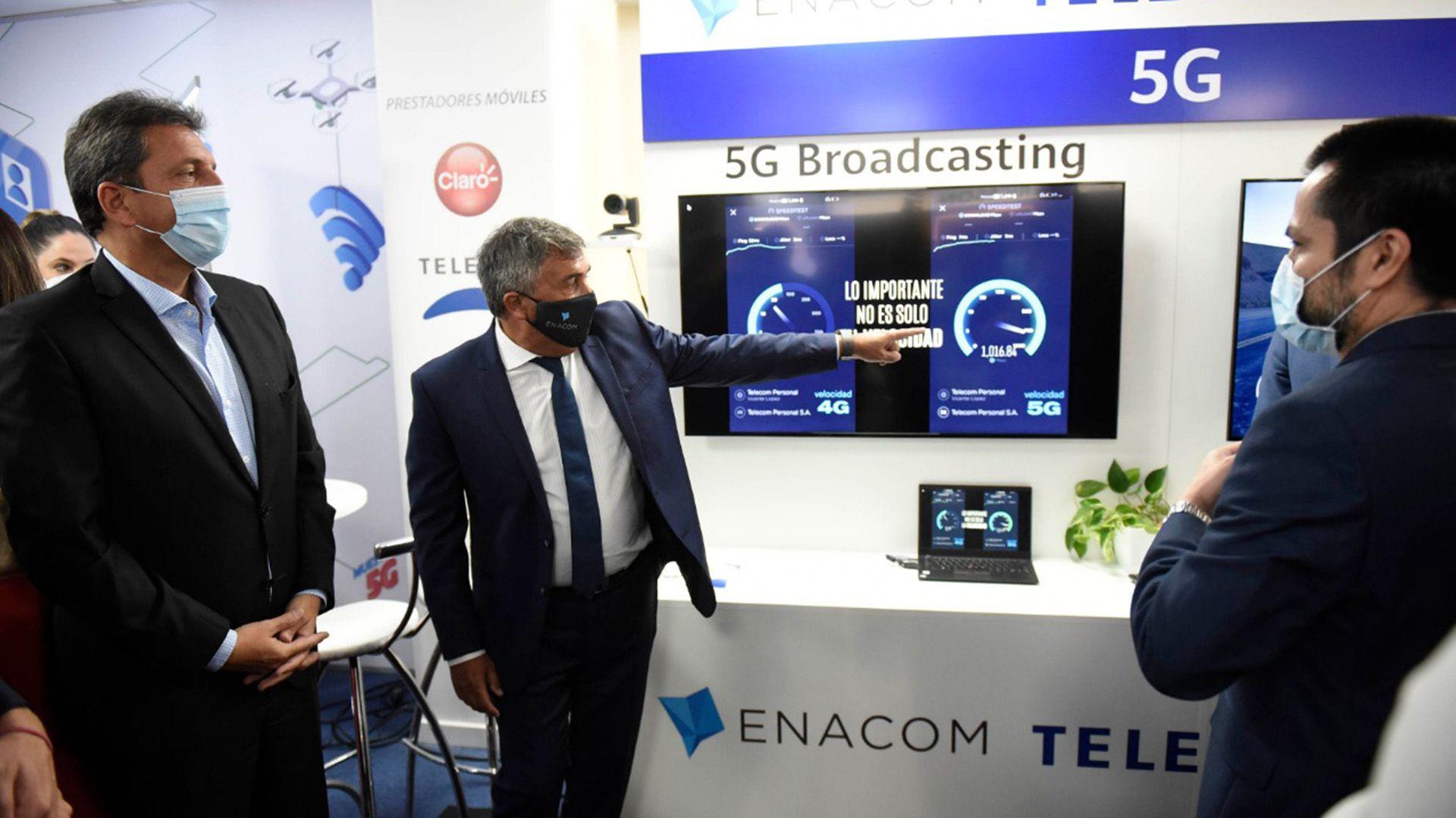Pruebas tecnología 5G - ENACOM