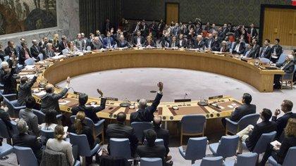 El Consejo de Seguridad de la ONU, donde se votará una posible investigación sobre el ataque con armas químicas en Siria (AP)