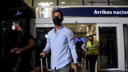 Los primeros pasajeros que aterrizaron en Aeroparque provenían de Córdoba