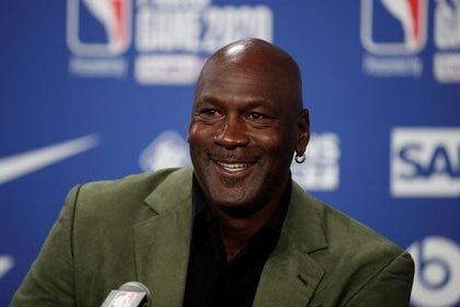 Michael Jordan es un amante de las apuestas porque despiertan su costado más competitivo (Foto: REUTERS)