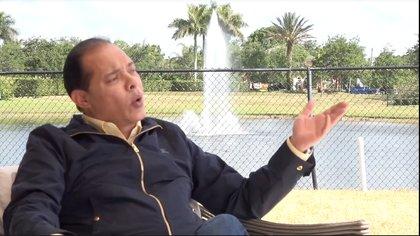 Alejandro Ceballos Jiménez (entrevista en el programa Gaceta Hípica de Miami, mayo 2016. Captura You Tube)