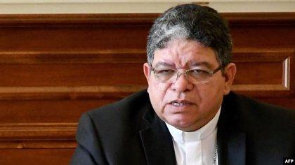Monseñor José Luis Azuaje, presidente de la Conferencia Episcopal Venezolana y Arzobispo de Maracaibo