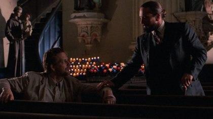 "Mickey Rourke y Robert de Niro en ""Angel Heart"", de 1987"