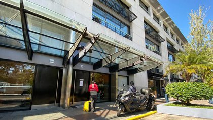 Las oficinas de la empresa E-ZAY en Puerto Madero (Lihueel Althabe)