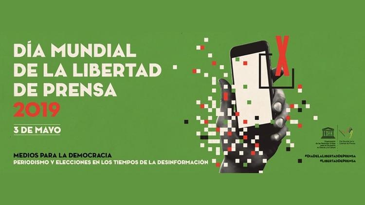 Campaña de la UNESCO en la edición 2019 del Día Mundial de la Libertad de Prensa