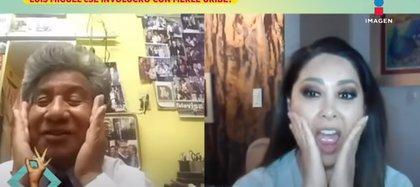 Anathan Briss, asistente de Merle Uribe dice haber sido testigo del encuentro con Luis Miguel (Foto: Captura de pantalla/YouTube)
