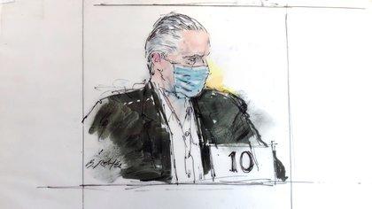 Cienfuegos Zepeda fue arrestado el pasado 15 de octubre en Los Ángeles, California (Foto: Bill Robles/AP)