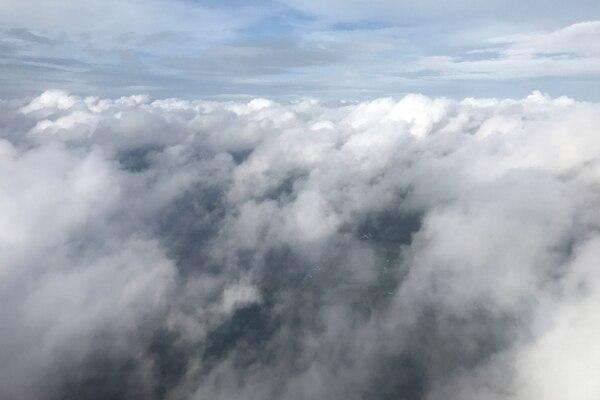Las nubes sobre Tallahassee, Florida antes de la llegada del huracán (REUTERS/Carlo Allegri)