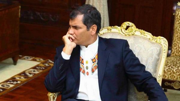 El ex presidente ecuatoriano Rafael Correa