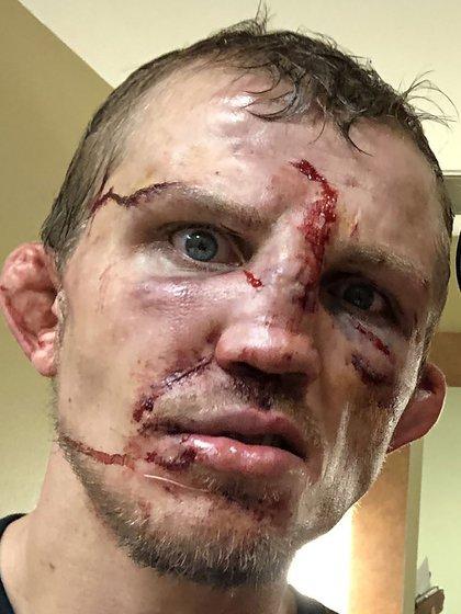 Jason Knight se comparó con 'Chucky', el muñeco maldito (@MMA_Fusion)
