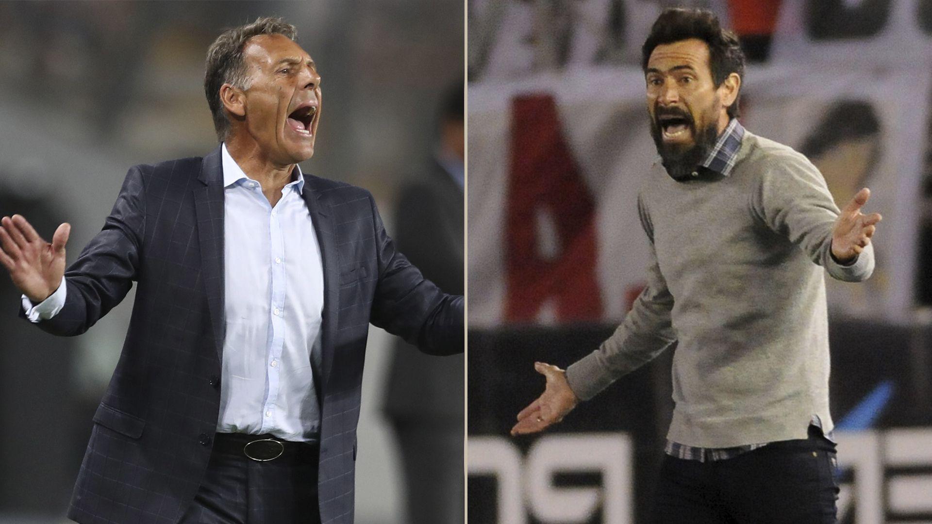 Miguel Ángel Russo y Eduardo Domínguez, con chances de dirigir a Boca si gana las elecciones Ameal