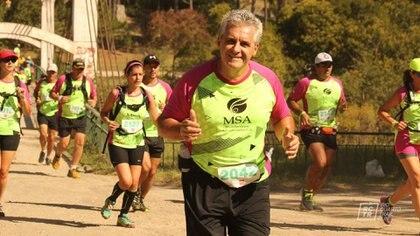 Rudy Bolognese solía participar de competencias físicas