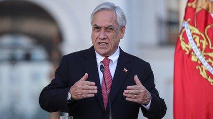 Sebastián Piñera, presidente de Chile (EFE/ Alberto Valdés)