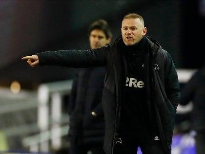 Imagen de archivo del entrenador interino del Derby County, Wayne Rooney, durante un partido contra el Birmingham City por el Championship en St Andrew's, Birmingham, Reino Unido. 29 diciembre 2020. Action Images/Jason Cairnduff