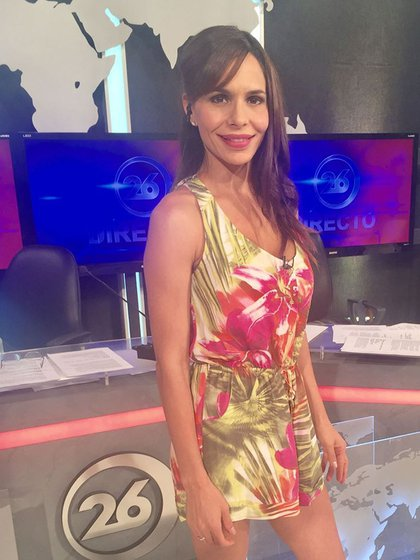 Melisa Zurita conduce distintos noticieros de Canal 26