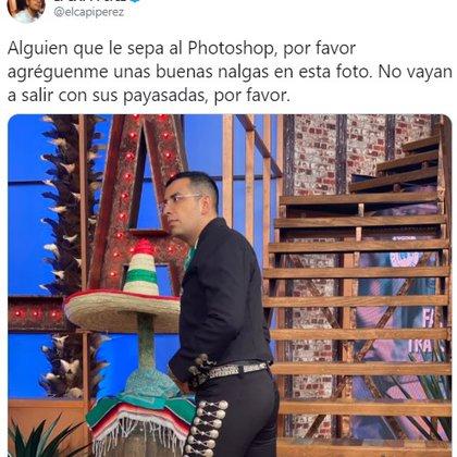"""La foto original con la petición del """"Capi"""" Pérez"""