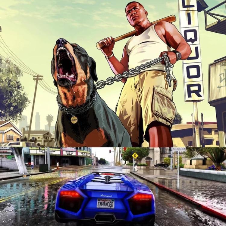 GTA se caracteriza por su naturaleza violenta y los potentes bólidos a disposición de los jugadores (Foto: Archivo)