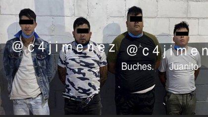 En Cuba 86 fueron hallados rastros de sangre y ropa, pues presuntamente fue el sitio donde asesinaron a Héctor y Alan (Foto: Twitter@c4jimenez)