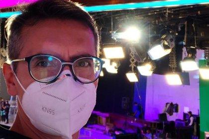 """Sergio Sepúlveda de """"Venga la alegría"""" se contagió de COVID-19 (IG: sergesepulveda)"""