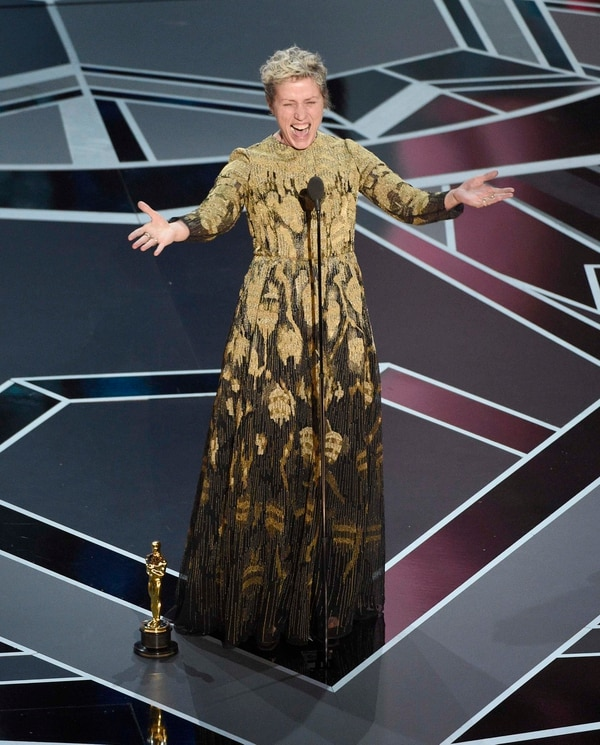 Frances McDormand (Chris Pizzello/Invision/AP)